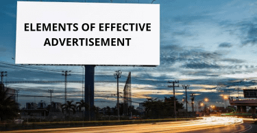 How to Advertise: Elements of Effective Advertisement
